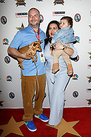LOS ANGELES - FEB 29:  Tommy Feight, Mercedes Javid, Son Shams Feight at the Beverly Hills Dog Show Presented by Purina at the LA County Fairplex on February 29, 2020 in Pomona, CA