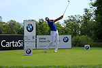 Fredrik Andersson Hed (SWE) in action on the 6th tee during Day 3 of the BMW Italian Open at Royal Park I Roveri, Turin, Italy, 11th June 2011 (Photo Eoin Clarke/Golffile 2011)