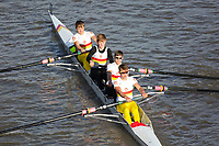 Crew: 291  TSS (P)  Tideway Scullers School (G Woolmer)  4+ Jun Chall<br /> <br /> Fours Head of the River 2018<br /> <br /> To purchase this photo, or to see pricing information for Prints and Downloads, click the blue 'Add to Cart' button at the top-right of the page.