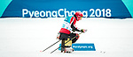 PyeongChang 9/3/2018 - Chris Klebl, of Canmore, AB, during a biathlon/cross country training session at the Alpensia Biathlon Centre during the 2018 Winter Paralympic Games in Pyeongchang, Korea. Photo: Dave Holland/Canadian Paralympic Committee