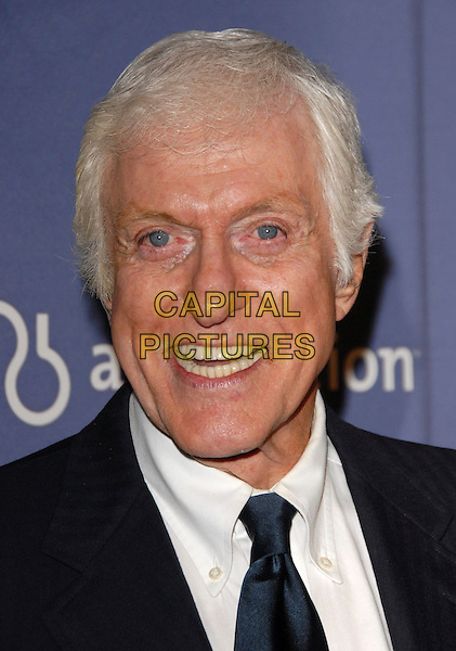 "DICK VAN DYKE.The 15th Annual ""A Night at Sardi's"" Fundraiser and Awards held at The Beverly Hilton Hotel in Beverly Hills, California, USA..March 7th, 2007.headshot portrait .CAP/DVS.©Debbie VanStory/Capital Pictures"