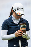 Minami Hiruta of Japan in action during the 9th Faldo Series Asia Grand Final 2014 golf tournament on March 19, 2015 at Faldo course in Mid Valley clubhouse in Shenzhen, China. Photo by Xaume Olleros / Power Sport Images