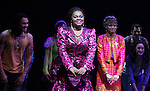 Da'Vine Joy Randolph with the Company.during the Broadway Opening Night Performance Curtain Call for  'GHOST' a the Lunt-Fontanne Theater on 4/23/2012 in New York City.