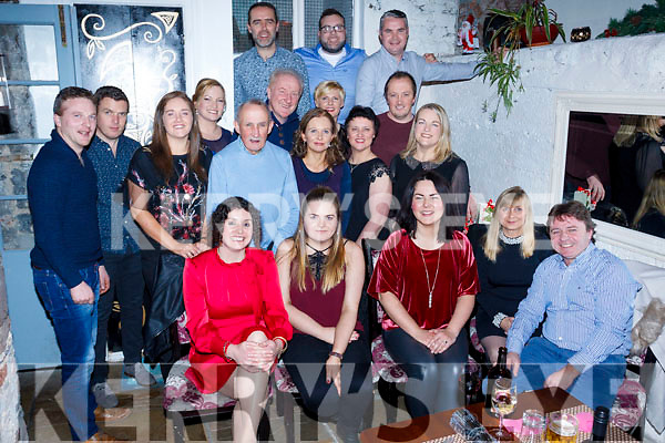 Staff of Gaelcholáiste Chiarraí enjoying their Christmas Party in the Croi Restaurant, Tralee on Friday night last.