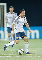 07 March 2012: LA Galaxy forward Landon Donovan #10 in action during a CONCACAF Champions League game between the LA Galaxy and Toronto FC at the Rogers Centre in Toronto..The game ended in a 2-2 draw.