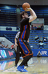 January 24, 2015 - Colorado Springs, Colorado, U.S. -  Boise State forward, Nick Duncan #13, during a Mountain West Conference match-up between the Boise State Broncos and the Air Force Academy Falcons at Clune Arena, U.S. Air Force Academy, Colorado Springs, Colorado.  Boise State defeats Air Force 77-68.