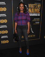 "08 May 2019 - Los Angeles, California - Laila Ali. ""What's My Name: Muhammad Ali"" HBO Premiere held at Regal Cinemas LA LIVE 14. Photo Credit: Billy Bennight/AdMedia"