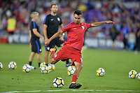 Orlando, FL - Friday Oct. 06, 2017: Chris Wondolowski during a 2018 FIFA World Cup Qualifier between the men's national teams of the United States (USA) and Panama (PAN) at Orlando City Stadium.