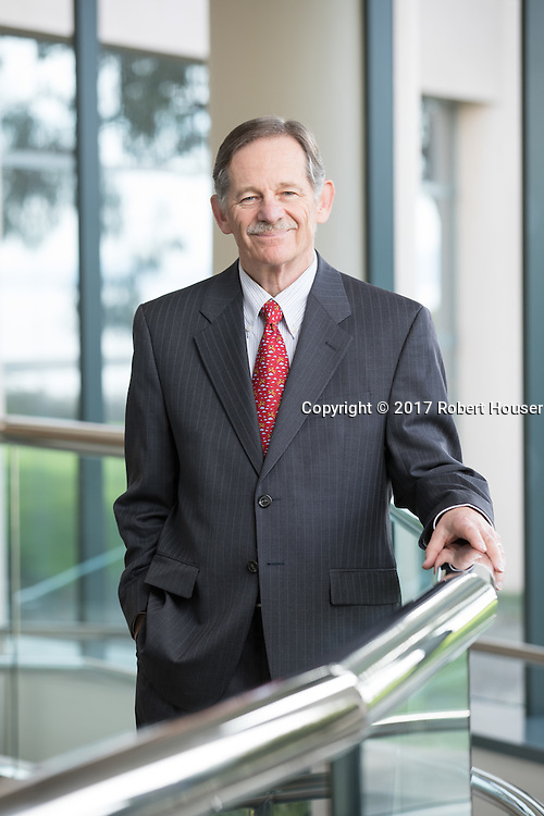 Portrait of Norman Schwartz - CEO - BioRad