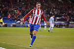 Atletico de Madrid's Fernando Torres celebrating a goal during La Liga match between Atletico de Madrid and Celta de Vigol at Vicente Calderon Stadium in Madrid, Spain. December 03, 2016. (ALTERPHOTOS/BorjaB.Hojas)