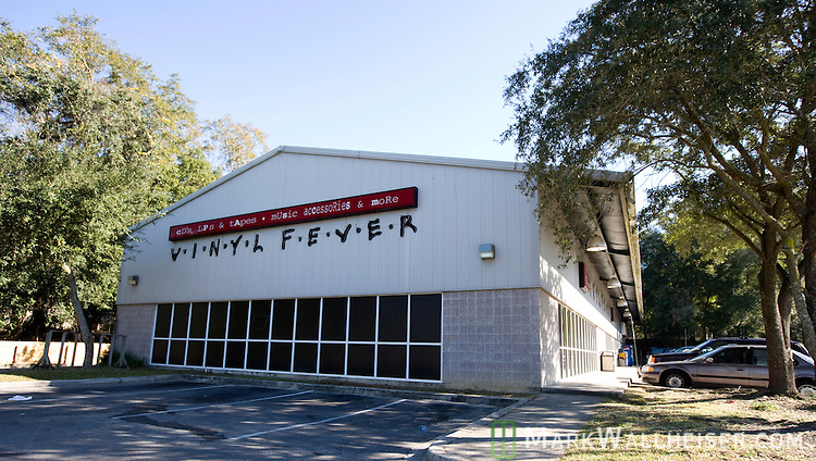 The Vinyl Fever store in Tallahassee, Florida December 22, 2009.