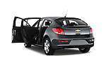 Rear three quarter door view of a 2013 Chevrolet CRUZE LTZ 5 Door Hatchback 2WD