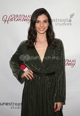 "LOS ANGELES, CA - NOVEMBER 7: Rachele Schank, at Premiere of Lifetime's ""Christmas Harmony"" at Harmony Gold Theatre in Los Angeles, California on November 7, 2018. Credit: Faye Sadou/MediaPunch"