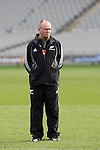 Coach Graham Henry at All Blacks training. Auckland, Wednesday 22 August 2007.