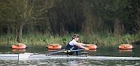Caversham. Berkshire. UK<br /> Ruth SIDDORN<br /> 2016 GBRowing U23 Trials at the GBRowing Training base near Reading, Berkshire.<br /> <br /> Monday  11/04/2016 <br /> <br /> [Mandatory Credit; Peter SPURRIER/Intersport-images]