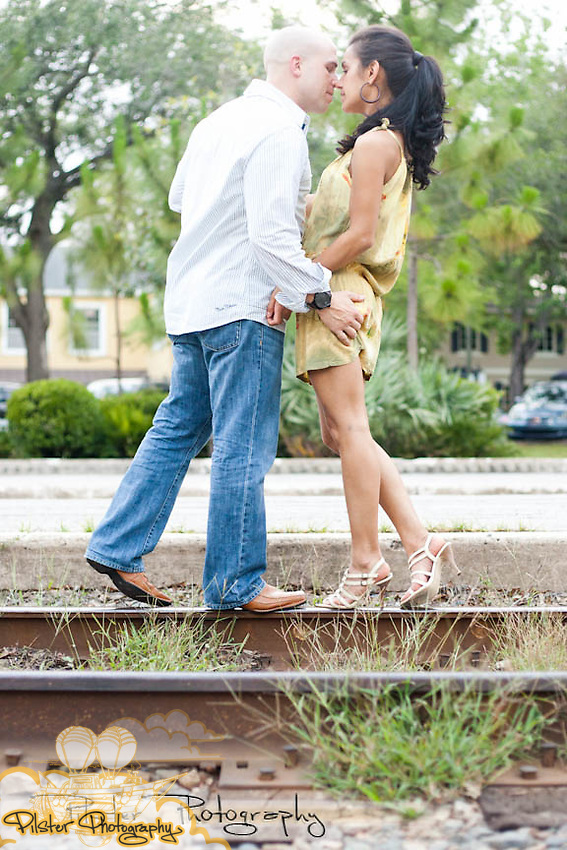 Derrick Smith and Fernanda Mori engagement Saturday, May 21, 2011, in downtown Winter Park, Florida. They also visited the Eola Wine Company. (Chad Pilster, Pilster Photography http://www.PilsterPhotography.net)