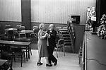 Working Mens Club, Saturday night entertainment.  Coventry Warwickshire 1981.<br />  Babycham advertisement