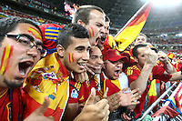Fans of the national football team of Spain