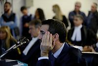 Roma, 24 Ottobre 2018<br /> Giovanni Musarò, PM.<br /> Processo Cucchi Bis contro 5 Carabinieri accusati della morte di Stefano Cucchi