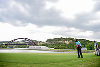 Bubba Watson (USA) putts on 13 during round 3 of the World Golf Championships, Dell Technologies Match Play, Austin Country Club, Austin, Texas, USA. 3/24/2017.<br /> Picture: Golffile | Ken Murray<br /> <br /> <br /> All photo usage must carry mandatory copyright credit (&copy; Golffile | Ken Murray)