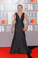 www.acepixs.com<br /> <br /> February 22 2017, London<br /> <br /> Jo Wiley arriving at The BRIT Awards 2017 at The O2 Arena on February 22, 2017 in London, England.<br /> <br /> By Line: Famous/ACE Pictures<br /> <br /> <br /> ACE Pictures Inc<br /> Tel: 6467670430<br /> Email: info@acepixs.com<br /> www.acepixs.com