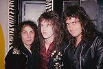 Ronnie James Dio, Rowan Robertson, Vinny Appice 1987
