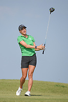 Jaye Marie Green (USA) watches her tee shot on 2 during round 4 of the Volunteers of America Texas Classic, the Old American Golf Club, The Colony, Texas, USA. 10/6/2019.<br /> Picture: Golffile | Ken Murray<br /> <br /> <br /> All photo usage must carry mandatory copyright credit (© Golffile | Ken Murray)