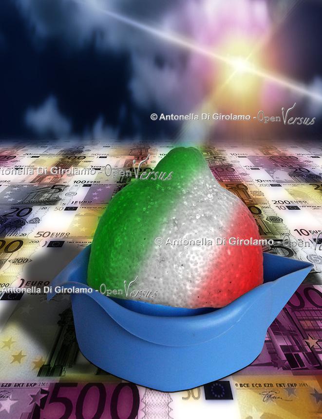 La manovra economica scuote l'Italia...