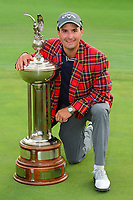 Kevin Kisner (USA) with the trophy for winning the 2017 Dean &amp; Deluca Invitational, at The Colonial, Ft. Worth, Texas, USA. 5/28/2017.<br /> Picture: Golffile | Ken Murray<br /> <br /> <br /> All photo usage must carry mandatory copyright credit (&copy; Golffile | Ken Murray)