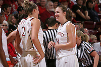 STANFORD, CA - FEBRUARY 1:  Kayla Pedersen of the Stanford Cardinal during Stanford's 68-51 win over the UCLA Bruins on February 1, 2009 at Maples Pavilion in Stanford, California.
