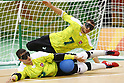 (L-R)<br /> Joseph Hamilton,<br /> Genrik Pavliukianec (LTU),<br /> SEPTEMBER 16, 2016 - Goalball : <br /> Men's Final match between Lithuania 14-8 USA<br /> at Future Arena<br /> during the Rio 2016 Paralympic Games in Rio de Janeiro, Brazil.<br /> (Photo by Shingo Ito/AFLO)