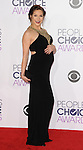 Allison Holker arriving at the People's Choice Awards 2016 held at the Microsoft Theater L.A. Live