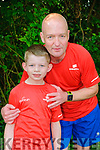 Park Run: John Walshe and his son Zack from Causway who completed the 5k  Listowel Park run on a time of 21.13 on Saturday last.