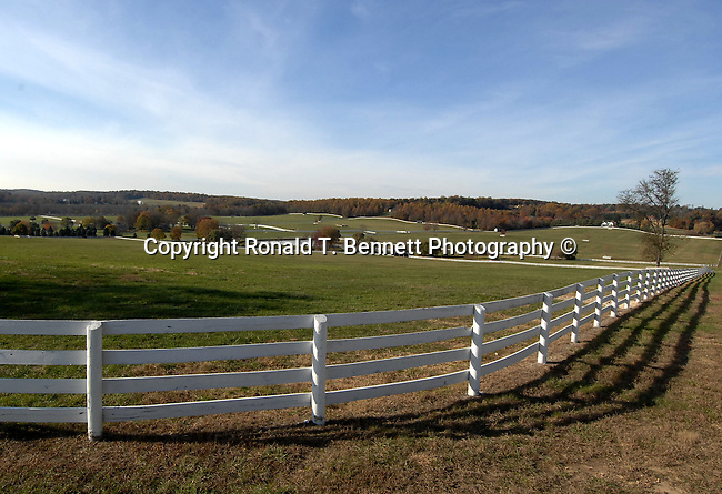 """Maryland farm with white fence,  United States, Maryland, Mid Atlantic region, Seventh state to ratify the United States Constitution, Old Line State, Free State, Johns Hopkins University, Little America, State of Maryland United States of America, Baltimore, Oak forest, Piedmont Region, Pine groves in the mountains to the west, Chesapeake Bay, Severn River, temporary capital of the United States in 1783-1784, Annapolis Peace Conference, Province of Maryland, """"Town at Proctor's,"""""""