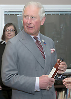 08 April 2019 - UK - Prince Charles Prince of Wales during a visit to the Hawkshead Relish Company in Hawkshead, Cumbria. Photo Credit: ALPR/AdMedia