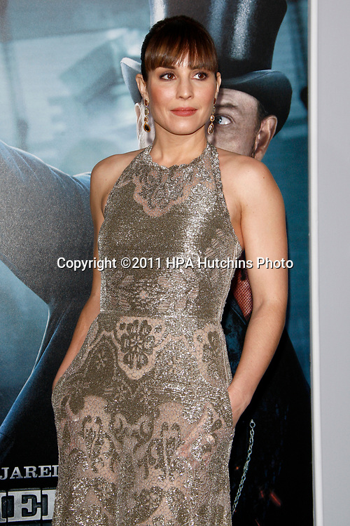 """LOS ANGELES - DEC 6:  Noomi Rapace at the """"Sherlock Holmes: A Game Of Shadows""""  Premiere at the Village Theater on December 6, 2011 in Westwood, CA"""
