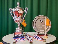 August 22, 2014, Netherlands, Amstelveen, De Kegel, National Veterans Championships, Trophy's<br /> Photo: Tennisimages/Henk Koster