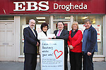 EBS Cheque Presentation to Collon Animal Santuary