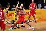 Kameron TAYOR (BA),<br /> Aktion,Zweikampf gegen<br /> Robin AMAIZE (OL)<br /> <br /> Basketball 1.Bundesliga,BBL, nph0001-Finalturnier 2020.<br /> Viertelfinale am 18.06.2020.<br /> <br /> BROSE BAMBERG-EWE BASKETS OLDENBURG,<br /> Audi Dome<br /> <br /> Foto:Frank Hoermann / SVEN SIMON / /Pool/nordphoto<br /> <br /> National and international News-Agencies OUT - Editorial Use ONLY