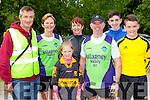 Con Lynch, Martina Lynch, Ali O'Donoghue, Elaine Clifford, Paudie O'donoghue, David Culloty and Oran o'Donoghue who ran in the Killarney Parkrun on Saturday