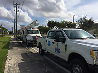 2017 FPL Hurricane Irma restoration in Miami, Fla. on Sept. 11, 2017.