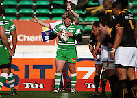 Manawatu hooker Sean O'Connor prepares to throw in during the Air NZ Cup preseason match between Manawatu Turbos and Wellington Lions at FMG Stadium, Palmerston North, New Zealand on Friday, 17 July 2009. Photo: Dave Lintott / lintottphoto.co.nz