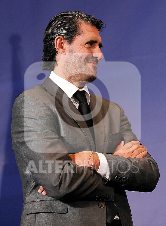 Atletico de Madrid's General Manager Jose Luis Perez Caminero. August 31, 2011. (ALTERPHOTOS/Acero)