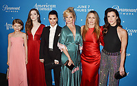 LOS ANGELES, CA - MAY 31: (L-R) Lia McHugh, Makeena James, Kyle Richards, Mena Suvari, Alicia Silverstone and Jennifer Bartels attend the 'American Woman' premiere party at Chateau Marmont on May 31, 2018 in Los Angeles, California.<br /> CAP/ROT/TM<br /> &copy;TM/ROT/Capital Pictures