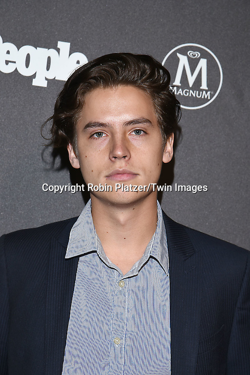 Cole Sprouse attends the Entertainment Weekly &amp; PEOPLE Magazine New York Upfronts Celebration on May 16, 2016 at Cedar Lake in New York, New York, USA.<br /> <br /> photo by Robin Platzer/Twin Images<br />  <br /> phone number 212-935-0770