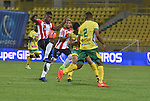 Atlético Junior igualó como local 3-3 ante Atlético Huila. Fecha 8 Liga Águila I-2017.