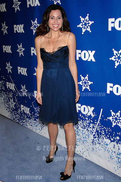 "MINNIE DRIVER - star of ""The Riches"" - at the Fox All-Star Winter TCA Party in Pasadena..January 20, 2007  Pasadena, CA.Picture: Paul Smith / Featureflash"