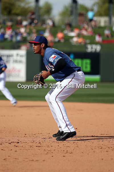 Ronald Guzman - Texas Rangers 2016 spring training (Bill Mitchell)