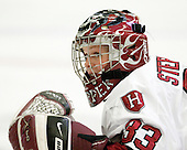 Kylie Stephens (Harvard - 33) - The Harvard University Crimson defeated the Boston College Eagles 5-0 in their Beanpot semi-final game on Tuesday, February 2, 2010 at the Bright Hockey Center in Cambridge, Massachusetts.