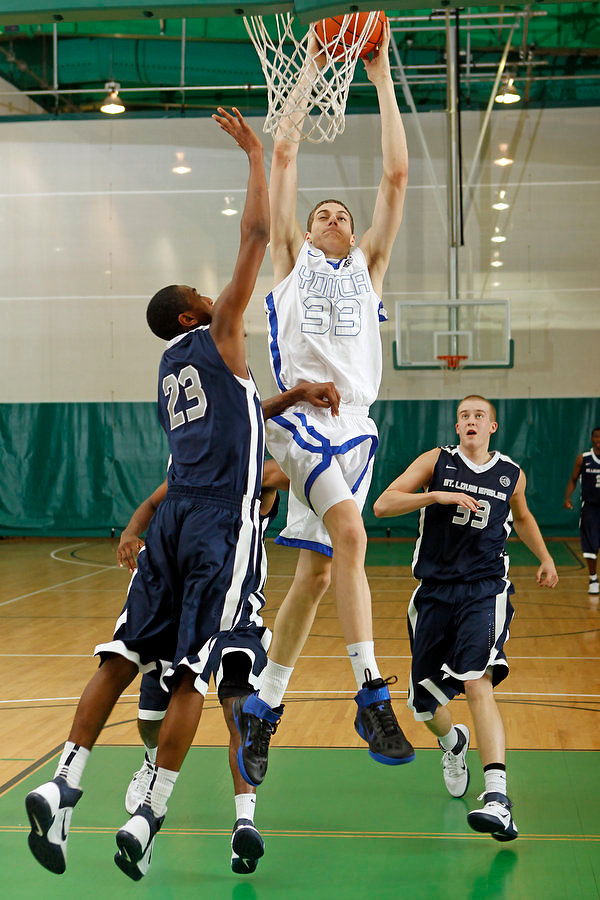 April 10, 2011 - Hampton, VA. USA;  Austin Nichols participates in the 2011 Elite Youth Basketball League at the Boo Williams Sports Complex. Photo/Andrew Shurtleff